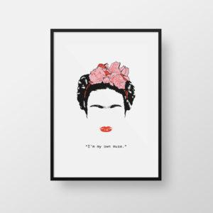 Cartel Frida Kahlo