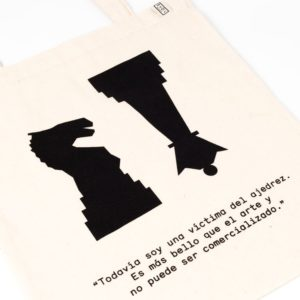 Bolsa de tela Marcel Duchamp