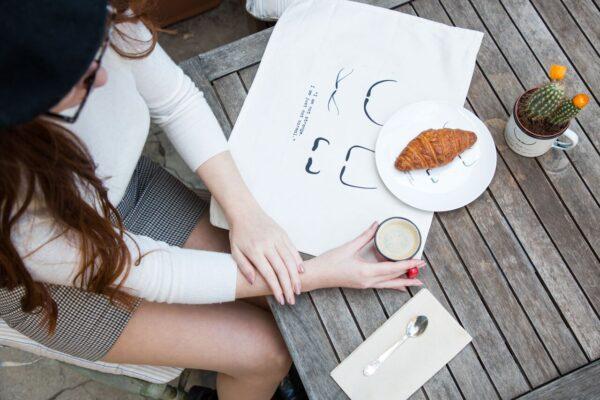 Paño de cocina de algodón Dalí
