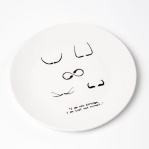 plato de cerámica Salvador Dalí
