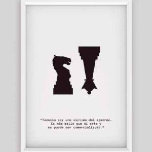 Marcel Duchamp póster