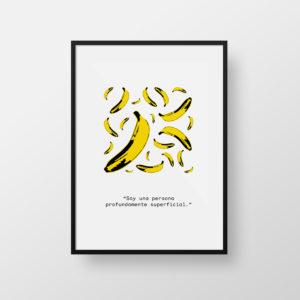 Warhol bananas print